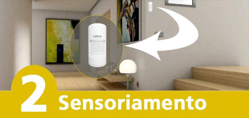 Alarme Monitorado – Sensoriamento